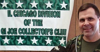 Chicago GIjOE Club President Ron Biallas in 2008. (Photo: Mark Otnes)