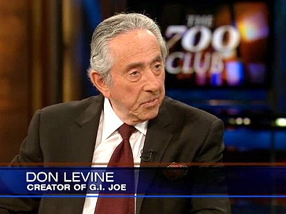 Don Levine interviewed on CBN (Photo: CBN)