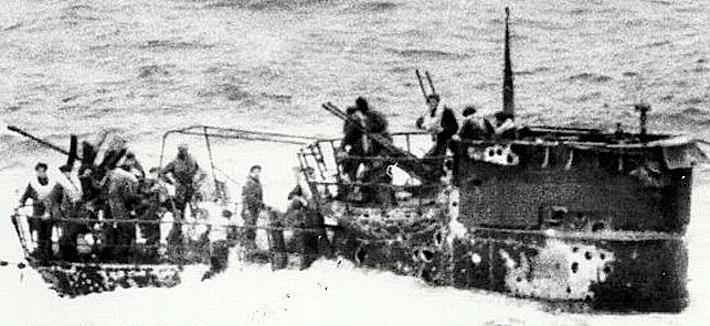 ww2 german u boat submarine u 550 located in deep water off coast