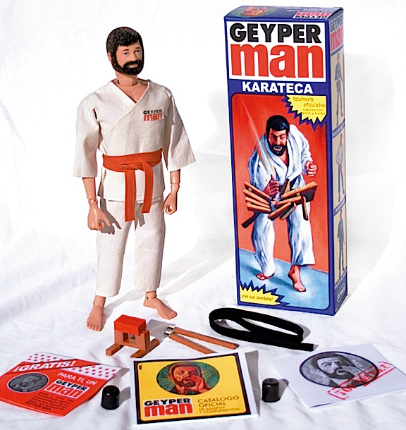"The new (vintage) ""Karateca"" Geyperman figure is an outstanding value. Made from the original molds, with superb gi, weapons and authentic box. (Photo: Hobby Crash)"