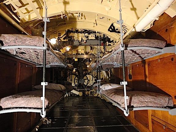 captured ww2 german u boat drydocked inside new 35. Black Bedroom Furniture Sets. Home Design Ideas