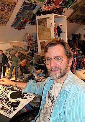 Artist and action figure customizer Wayne Faucher (Photo: Wayne Faucher)