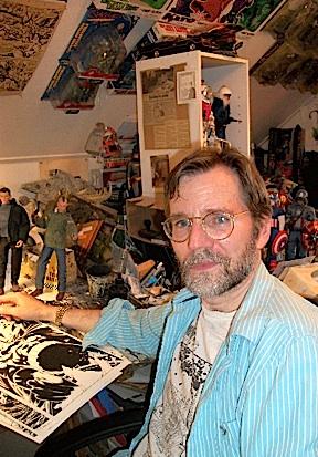 Artist and action figure customizer Wayne Faucher (Photo: Wayne Faucher)