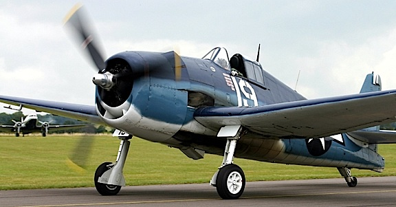 The recently discovered F6F Hellcat would have looked very similar to this one during WW2. (Photo: thebrigade)