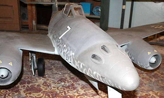 Front view of the ME 262. (Photo: javi)