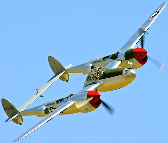 The P-38 Lockheed Lightning discovered on a Wales beach would have looked very similar to this one. (Photo: