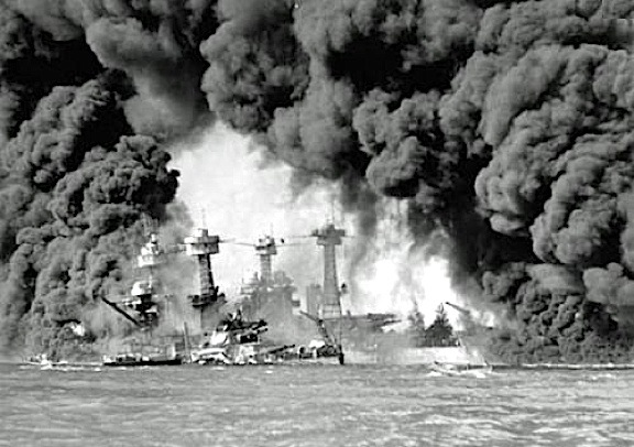 Of course, no Hollywood movie could ever truly capture the holocaust of events inflicted upon Americans during the actual surprise attack. (Photo: US Navy)