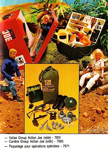 "Don't forget all that foreign ephemera. It's just as much a part of GIjOE history as anything else. Some foreign catalogs of relatively obscure figures such as ""Group Action Joe"" in France, are the best evidence of sets and equipment most fans have long forgotten—or NEVER knew existed!"