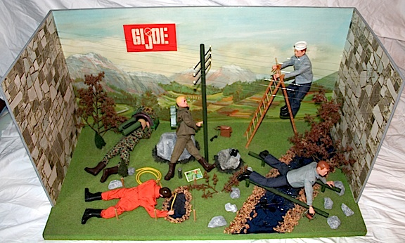 "The so-called, ""1965 GIjOE Toy Show Display"" sparked a lot of interest when it first appeared on ebay in 2011. (Photo:"