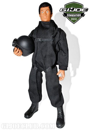 "Man of Action in his ""Stealth Jumpsuit"" from the upcoming ""Secret Mission to Dragon Island"" JoeCon 2013 exclusive. (Photo: GIJCC)"