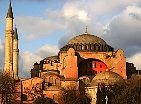 The Hagia Sophia museum in Istanbul, Turkey is indeed beautiful. Copying any of its architectural styling is considered to be racist by the TCCA. (Photo: Google)