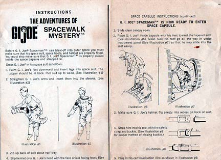 Instruction sheets were helpful for the first 10 minutes, then largely discarded. Did YOU keep them all? (Courtesy: Robert Findlay Collection)