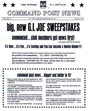 Newsletters, flyers and promotional handouts are all historically significant pieces of GIjOE ephemera. (Courtesy: Robert Findlay Collection)