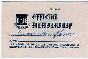 Early (original) examples of membership cards too, are now hard to come by. Sure, you can copy this easily, but it's not the same. (Courtesy: Robert Findlay Collection)