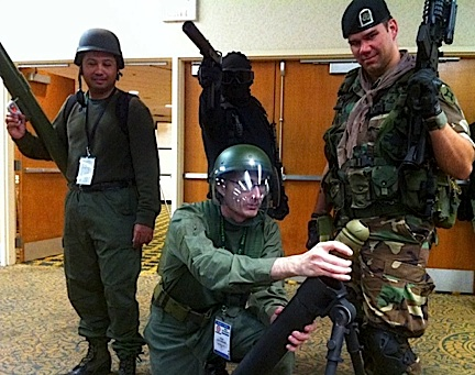 Another great shot of Joeheads showing their stuff at JoeCon 2012. (Photo: GIJCC)