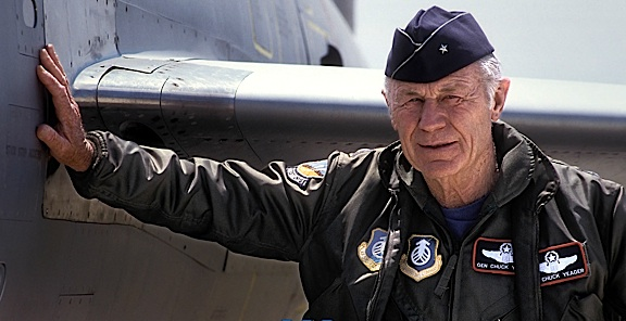 General Chuck Yeager (Photo: PMN  III)