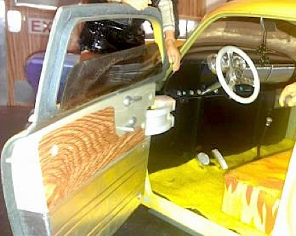 Even the interior received special attention with the addition of new door panels, carpeting and other details. (Photo: Ron Stymus)