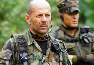Bruce Willis in GIjOE: Retaliation. (Photo: Paramount)