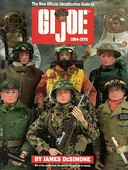 "DeSimone's magnificent self-published guide to vintage 12-inch GIjOEs has become required ""reading"" for all Joeheads. (Photo: James DeSimone)"