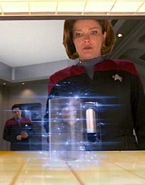 "New 3-D printing technology reminds many of an early version of the the famous ""replicator"" devices shown on episodes of Star Trek. Both use a process called ""additive manufacturing"" (AM) to create 3-dimensional objects, seemingly from thin air! (Photo: Paramount)"