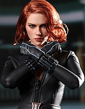 "Yes, this is a 12"" action figure. Female figures have come along way since the first GIjane Nurse. The astonishing likeness of Scarlett Johansen as the Black Widow from The Avengers has set the bar about as high as it can go. Round 2 doesn't have to achieve this quality with Lady Action, but it gives them a good goal to aim for. Collectors are becoming more and more discerning—even kids! (Photo: Hot Toys)"