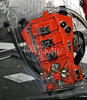 In an unheard of scenario, individual parts are also being offered, such as this red-orange air-conditioner pack. (Photo: Hobby Crash)