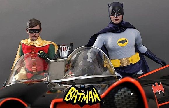 Hot Toys has already set the hearts of many Bat-fans to flutter with the recent release of their superb 1:6 scale Batman and Robin action figures. With the 1:6 classic 1966 Batmobile not far behind, collectors will have their hands full and wallets EMPTY. (Photo: Hot Toys)