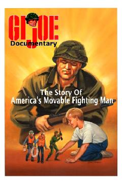 Petrucci would be called upon again in his later years to recreate some of his iconic GIjOE artwork for all-new figure boxes, advertisements and packaging, such as this cover for the DVD documentary in which he also appeared. (Photo: Amazon)
