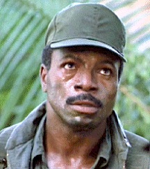 "Carl Weathers (shown above in ""Predator""), provided both the physical inspiration and voice-talent for the latest incarnation of Pixar's ""Combat Carl"" action figure character. (Photo: 20th Century Fox)"