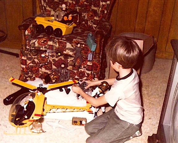 Like so many GIjOE fans, David Howard's fascination with the toy line began at an early age and would resurface with a vengeance in adulthood. (Photo: David Howard)