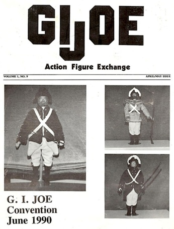 "An example of one of the earliest ""unofficial,"" fan-created, GIjOE show newsletters, created by NAME. (Photo: David Howard)"