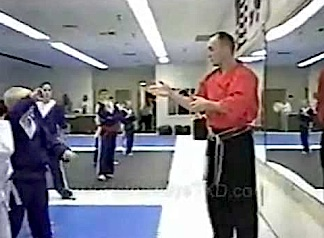 Karate instructor, Freddie LaPan, teaching a children's class at his dojo in VT. (Photo: )