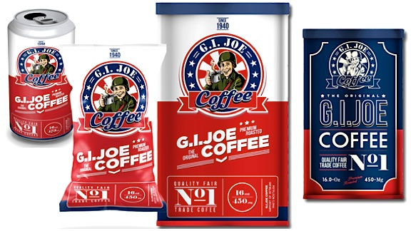 The GIjOE Coffee product lineup. (Photo: GIjOE Coffee)