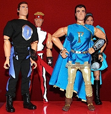 "Famed custom action figure company, Herobuilder.com, produced these custom figures based on characters from Who Wants to Be a Superhero?, and offers to create similar ""one-of-a-kinds"" for collectors, but currently there are no plans to mass-produce such a line. (Photo: Herobuilders.com)"