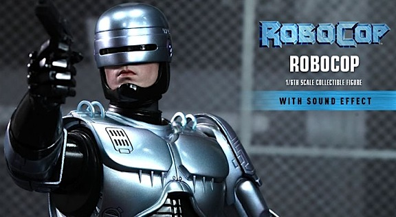 Three new Robocop products from Hot Toys will be sure to thrill fans of the futuristic cyborg cop hero. (Photo: Hot Toys)