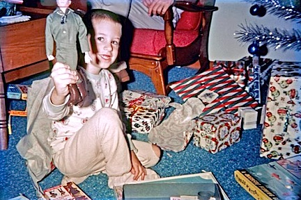 "According to this great retro-photo's caption: ""It's Christmas, 1964, in Diamond Bar, CA. My nephew Jimmy got a GIjOE."" Where is that Joe today, Jimmy? (Photo: tterrace)"