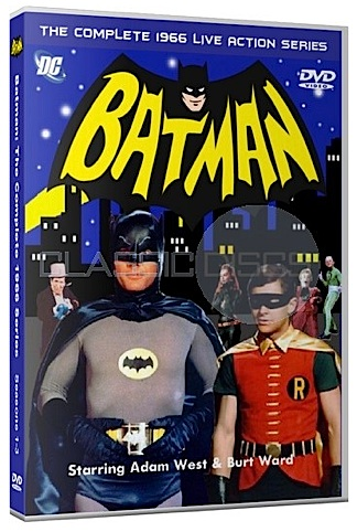 "This ""unofficial"" Batman bootleg DVD bears the DC Comics logo and the DVD logo in an attempt to look more authentic. But buyer beware! These are also fakes and yes, illegal. (Photo: classicdiscs)"