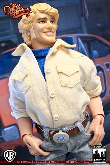 He's charming. He's smiling. He's...Bo Duke! Opinions may vary, but that much molded hair strikes us as...not so great. What do YOU think? (Photo: FTC)