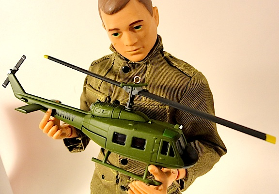 Joe loves helicopters, and the Hallmark Keepsake Huey is one of his favorites! We found this one on sale for $15, normally $17. But you can probably find it online for even less. Happy Hunting! (Photo: Mark Otnes)