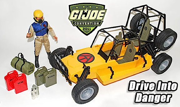 "The ""Drive Into Danger"" 12-inch exclusive set from JoeCon 2011 remains a ""must-have"" for Adventure Team fans. It's original sticker price of $325 kept many collectors away, but during the ""50-Day Sale"" it's being sold for just $162. Of course, add the cost of shipping and you're back up to about $200. (Photo: GIJCC)"