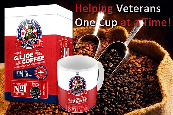 One of the more appropriate message graphics utilized during GCC's recent fundraiser on Indiegogo. (Photo: The GIjOE Coffee Company)