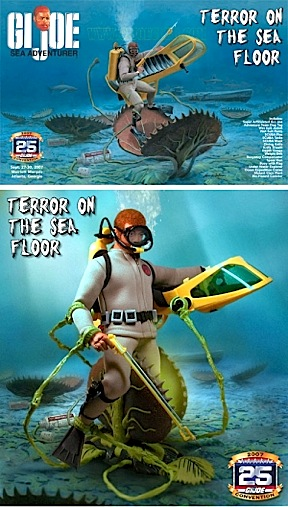 "My, how time flies, and prices fall. The ""Terror on the Sea Floor"" convention set from 2007 originally rang up at a whopping $250. Durring the GIjCC's ""50-Day Sale,"" you can snag this extraordinary set for just $100. Great gobbling Sea Clams...What a value! (Photo: GIJCC)"