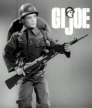 Look into his eyes... This GIjOE was one of the first ever created. Its a rare, prototype figure that probably exists now, only in our imaginations. (Screenshot courtesy of Matthew McKeeby)