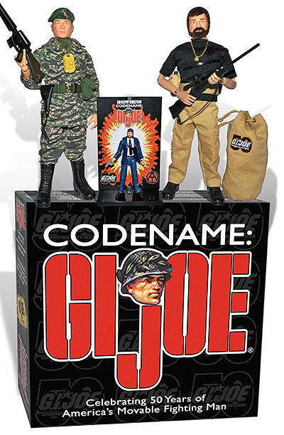 "While better than nothing, the club's ""Codename: GIjOE"" convention exclusive 2-figure set has generated little excitement among fans who expected something MUCH more creative or inspired for the figure's 50th Anniversary. (Photo: GIJCC)"
