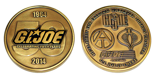 There are still copies of this special brass commemorative coin available at the club store. ($25 each). (Photo: CIGCC)