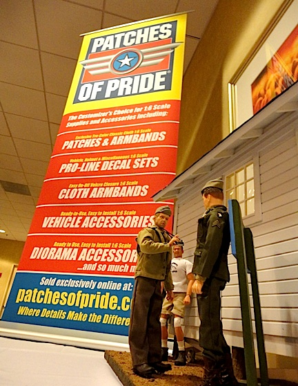 Patches of Pride was one of the sponsors of the Custom figures and Dioramas competition at Joelanta 2014. (Photo: Mark OTnes)