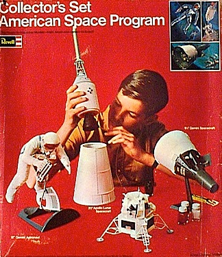 Is it, or isn't this, Tom Razooly? Although he can't remember, and the identity of this young man is most likely lost to the ages, the reality is that Tom was a child model for Revell during the 1960s, and posed specifically for their line of NASA kits. As a result, the likelihood that this is in fact a young Razooly, is very high. (Photo: Tom Razooly)