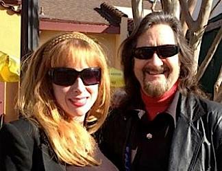 Tom with fiancce, Amber NAME. (Photo: Tom Razooly)