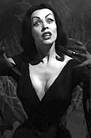 "Actress Maila Nurmi as ""Vampira."" (Photo: Ed Wood)"