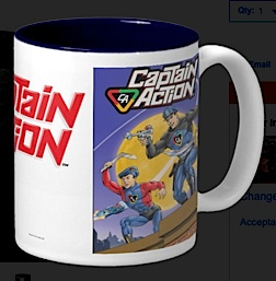 Captain Action coffee mug. (Photo: zazzle)